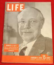 Life Magazine February 9, 1948 Vintage Ads Studebaker, Coke Very Good Cond.