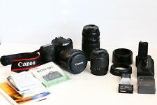 Canon Camera EOS 50D, Three Lenses, and Accessories
