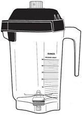 Vitamix 15978 48oz 14l Advance Container With Blade Amp Two Piece Lid