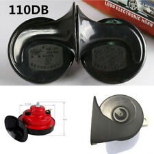 2x48W Car Loud Dual-tone Snail Universal Electric Horn 12V 110 dB For Truck Auto