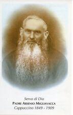 86 Padre Arsenio Migliavacca Santino Holycard