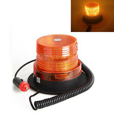 Car Truck 10 LED Emergency Flash Strobe Rotating Beacon Warning Light 12V Amber