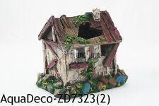 "BIG 5.5"" Resin House Ruin Decoration/Ornament For Aquarium (SHIP FROM USA)"