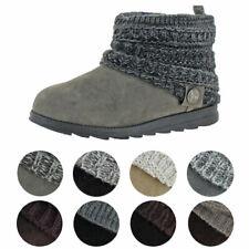 Muk Luks Patti женские крупной вязки манжеты зимние ботиночки
