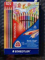STAEDTLER® Farbstifte Noris Club, 12+4 Packung Bonus Pack Neu