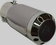 Punta cromato acciaio inox di scarico si adatta a CITROEN C3 to2010 dallo scarico Trim (CT3)