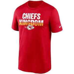 New 2021 NFL Kansas City Chiefs Nike Legend Local Phrase Performance T-Shirt NWT