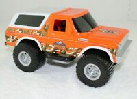 Tree House Kids Toys Orange/White/Camo Ford Bronco Toy  Lifted Truck (2008)