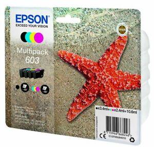 Genuine Epson 603, Starfish Ink Cartridges, XP-2100, XP-2105, XP-3100, XP-3105