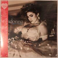 MADONNA LIKE A VIRGIN LP SIRE 1984 JAPAN PRESS NEAR MINT IN SHRINK WRAP