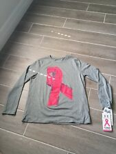 Girls Power In Pink Under Armour Long Sleeve Shirt Sz Youth Lg