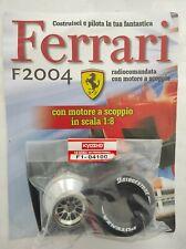 Ferrari Formula 1 F2004 De Agostini Kyosho a Scoppio Ricambio N°100 04100 Nuovo