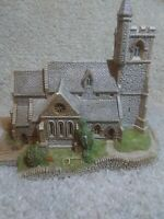 """Lilliput Lane """"St Lawrence Church"""" Used in Excellent Condition"""