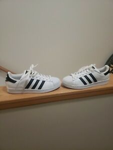 Adidas Originals Superstar Men 9Low Top White Black Shell Toe Sneakers C77124