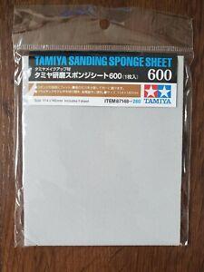 Tamiya Sanding Sponge Sheet 600