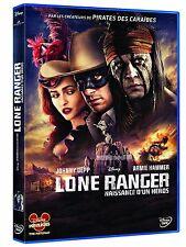 DVD *** LONE RANGER NAISSANCE D'UN HEROS *** avec Johnny Depp ( neuf emballé )