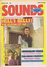 ALARM / IMMACULATE FOOLS / ZERRA 1	Sounds	Mar	23	1985