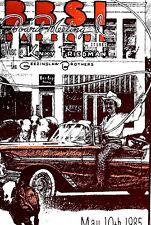 KINKY FRIEDMAN & GEEZINSLAW BROS KATZ'S  - by JUKE 1985-  ORIGINAL LARGE SCARCE