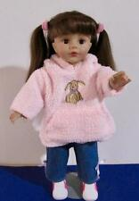 Madame Alexander Doll 19 in. Brunette Hair Brown Sleep Eyes Clothes and Shoes