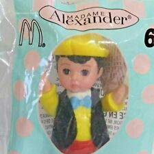 2004 Madame Alexander Pinocchio Boy Doll McDonalds Happy Meal NEW