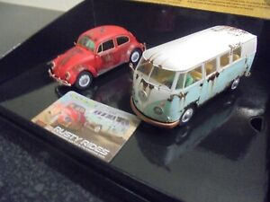 """Scalextric C3966a VW """"Rusty Rides"""" twin gift pack BNIB"""