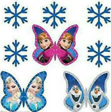 20 water slide nail art  decals frozen  butterfly, snowflakes Christmas trending