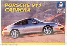 Italeri Porsche 911 Carrera 684 1/24 New Car Plastic Model Kit