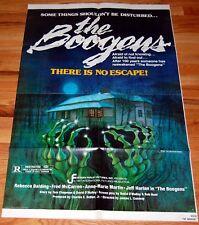 THE BOOGENS ORIGINAL 27X41 MINT FOLDED MOVIE POSTER 1981 HORROR REBECCA BALDING