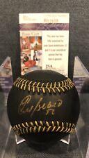 Yoenis Cespedes New York Mets Oakland A's Auto Signed OML Black Baseball JSA COA