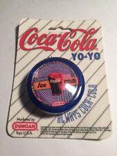 "Vintage Coca-Cola ""Ice Cold"" Yo Yo DUNCAN TOYS 1997 Brand New Retro Coke BLUE"
