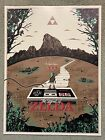 Legend Of Zelda Princess Link Video Game Art Print Poster Mondo Derek Payne