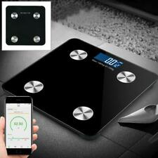 New Rectangle Bluetooth Bathroom Body Fat Scale LCD Weighing Scale Android/iOS