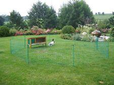 Kaninchennetz 12 m  Hasenzaun Kaninchen Freigehege