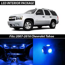 2007-2016 Chevrolet Tahoe Blue Interior LED Lights Package Kit
