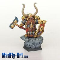 Dwarf Lord Ragar MASTERS6 painted MadFly-Art