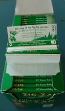 3 Packs Zig-Zag Rolling Papers  New Packs 50 leaves each Pack