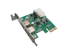 PCI EXPRESS PCIE USB 3.0  USB3 - 2 PORTS - LOW PROFILE/ CHIPSET NEC