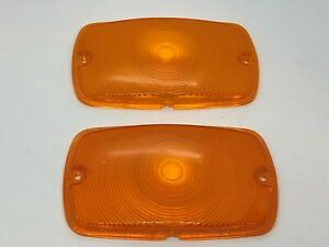 Toyota Land Cruiser Early Fj40 Turn Signal Indicator lens set Blinker NOS