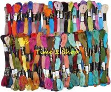NEUF 75 Anchor Uni Point écheveaux coton broderie soie couleurs assorties