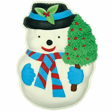 Snowman Christmas Pantastic Cake Pan Oven safe to 375 from CK  #4050 - NEW