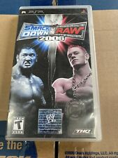 WWE SmackDown vs. Raw 2006 (Sony PSP, 2005) Video Game Complete with Manual