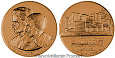 Reverend Billy and Ruth Graham US Mint Medal with Velvet Case