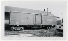 Vintage INDIANA RAILROAD Photograph PHOTO Train TROLLEY Interurban STREETCAR