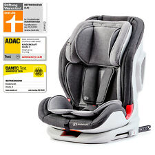 Kinderkraft Kinderautositz ONETO3 Autokindersitz Isofix Gruppe 1/2/3 9-36kg Grau