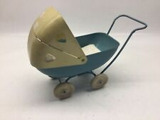 Antique Pressed Steel Metal Toy Carriage
