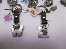 SCHUTZENGEL- Schlüsselanhänger mit Buchstabe nach Wahl , Glücksbringer,