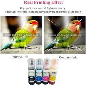 Refill Ink For Epson L1110 L1118 L3169 L4150 L5190 70ML Ink Printer EcoTank H4G1