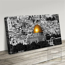 JERUSALEM DOME OF THE ROCK STUNNING ICONIC CANVAS ART PRINT PICTURE Art Williams