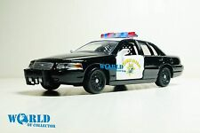 Ford Crown Victoria 1999 Police California Scale 1 43 Motormax Diecast model car