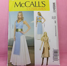 McCall's M 6941 Daenerys Style Dress Thrones Costume Sewing Pattern sz 12-20 NEW